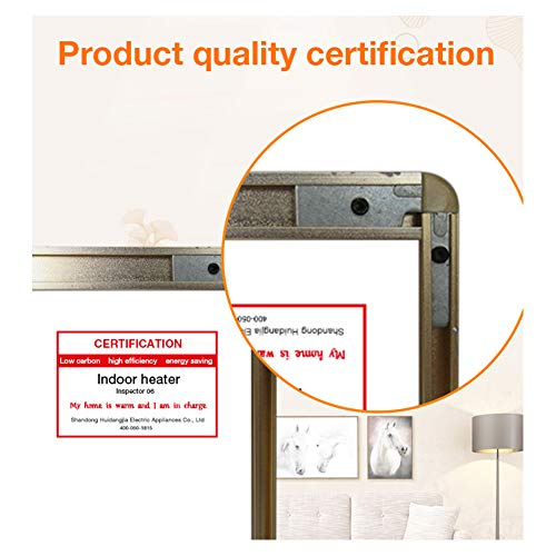 HL Heizung Panel Gut Montiert Carbon Kristall Infrarot Heizung Bad Home Office Kühler 800 Bild 5*
