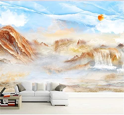 papel tapiz 8d personalizado moderno 3d nueva línea urbana minimalista fondo de tv revestimiento de paredes-(102.3×68.9inch)