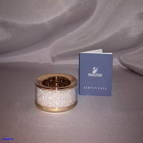 Swarovski Crystalline Teelicht vergoldet Tealight gold-plated 1068985 AP 2010