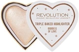 Makeup Revolution Blushing Hearts Highlighter ~ Goddess of Love