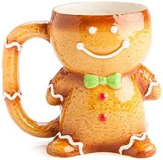 Ceramic Xmas Mug - Gingerbread Man