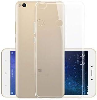 Xiaomi Mi Max 2 TPU Silicone Clear Case Back Cover By Muzz