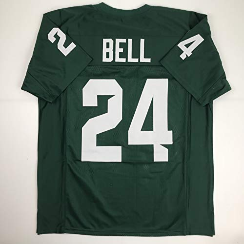Unsigned LeVeon Le'Veon Bell Michigan State Green College Custom Stitched Football Jersey Size Men's XL New No Brands/Logos
