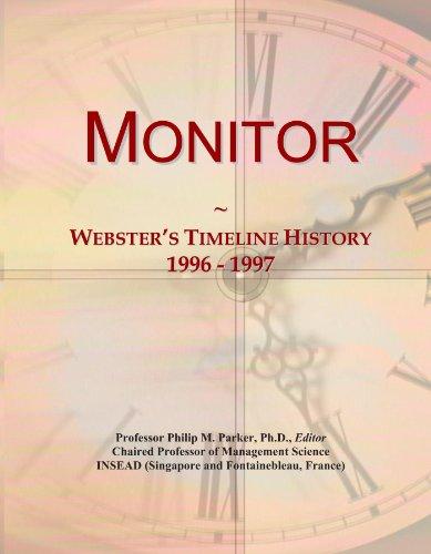 Monitor: Webster's Timeline History, 1996 - 1997