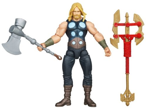 Hasbro The Avengers 2012 Comic Series Battle Hammer Thor 4 inch Action Figure