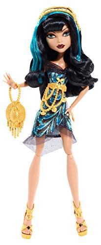 Monster High - Muñeca Alfombra Negra Cleo De Nile (Mattel BDF25)