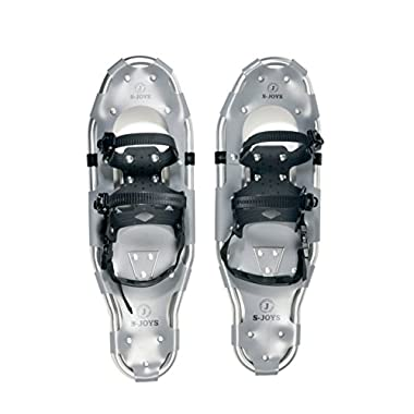 S-JOYS Light Weight Snow Shoe with Carrying Tote Bag, 21-Inch