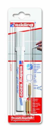 edding e-8200-1-4049 - Marcador para juntas, color blanco