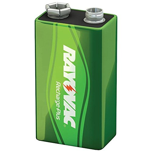 RAYPL16041GEN - Rayovac Recharge Plus 9-Volt Battery