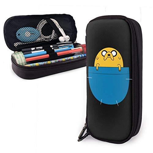 huatongxin Anime Cartoons Adventure Time Estuche Large Capacity Pen Pouch Kids Boys Girls Cute Pencils Bags with Zipper Adults of