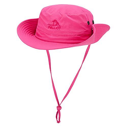 PELLIOT Sonnenhut Outdoor Herren Damen UV Fischerhut Sonnenhut Im Freien Sun Hat Elegant Faltbar Breite Krempe Unisex Hut