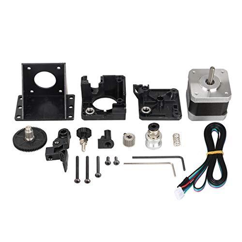 Kit completo de extrusor de titanio para impresora 3D, versión mejorada para V6 J-Head Bowden soporte de montaje 1,75 mm filamento E3D V6 Hotend 3:1 Ratio