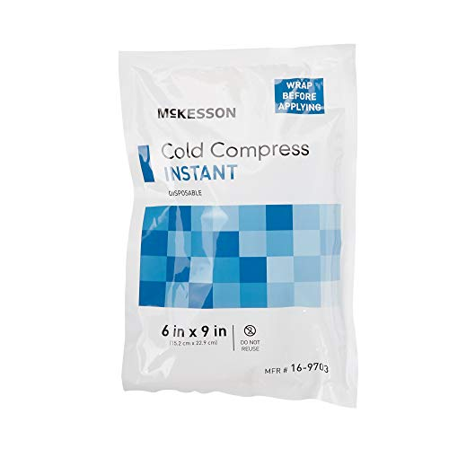 "McKesson Disposable 6 X 9"" Instant Cold Pack 16-9703 24 /Case"