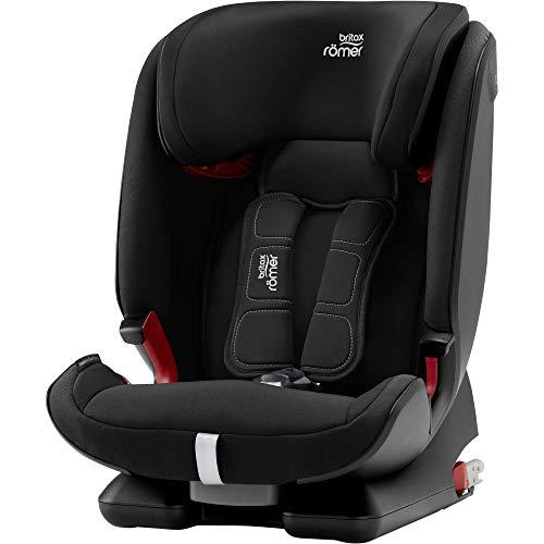 Britax Römer Kindersitz 9 Monate - 12 Jahre I 9 - 36 kg I ADVANSAFIX Z-LINE Autositz Isofix Gruppe 1/2/3 I Cosmos Black