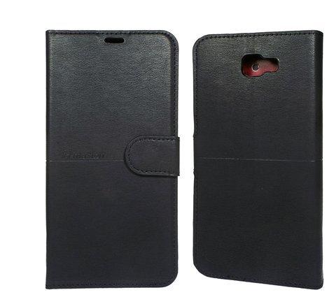 Capa Carteira Flip para Samsung Galaxy J7 Prime com Porta Cartão Fechamento Magnético