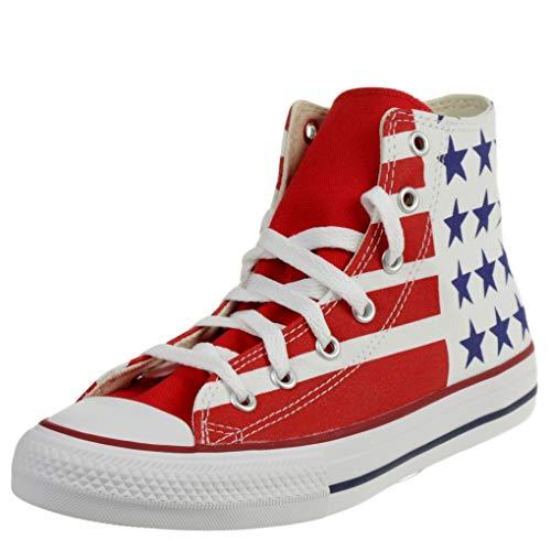 Converse Chuck Taylor All Star Stars & Stripes Zapatillas Moda Hombres Azul/Blanco/Rojo...