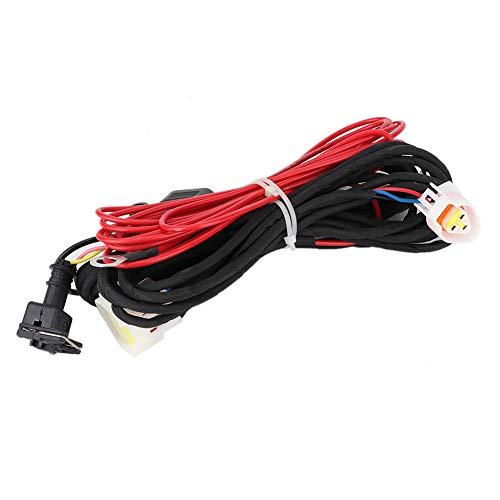 Cable del calentador del bloque del motor Cable de suministro de energía Tipo separado Arnés de cableado Accesorios para estacionamiento de automóviles Calentador de aire diesel