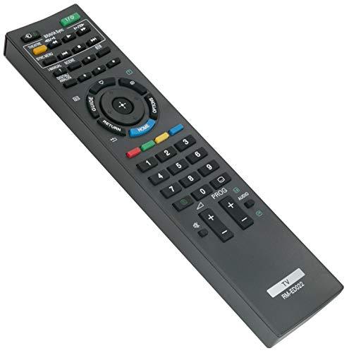 ALLIMITY RM-ED022 Mando a Distancia reemplazado por Sony LCD Bravia Plasma TV KDL-32BX300U KDL-32BX400 KDL-32EX301 KDL-32EX302 KDL-32EX401 KDL-32EX401U KDL-37EX401E KDL-37EX401U