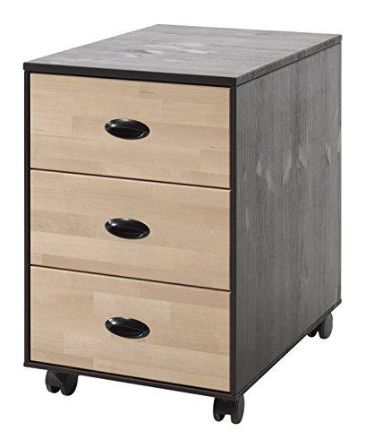 Vipack WIRK1440 William Caisson pour Bureau, Pin, 57x40x60 cm