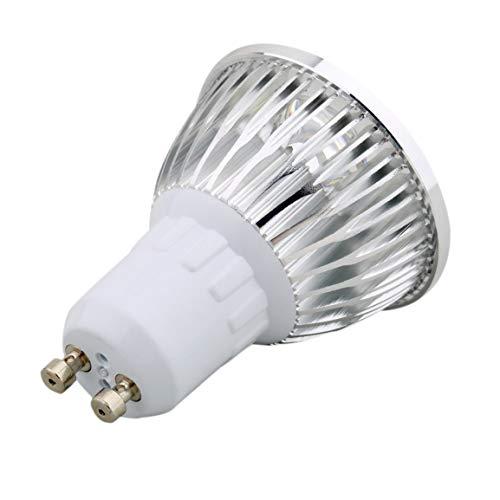 Brillante 6W 4LED GU10 Foco LED Downlight Lámpara Foco Foco Luz Blanca Pura/cálida Bajo Consumo de energía Energía de Alto Efecto
