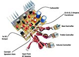 ERH INDIA Ready to use 2.1 Home Theater Amplifier Circuit Board Kit