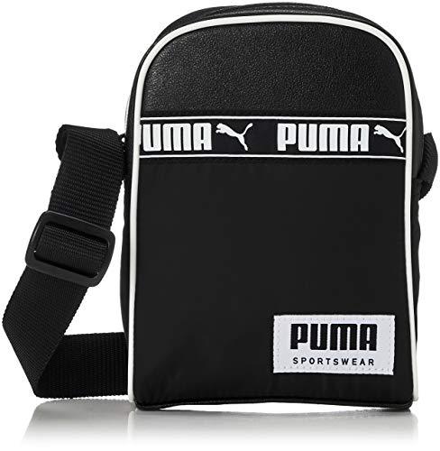PUMA Campus Compact Portable Bandolera, Niños, Black (Negro), Talla Única