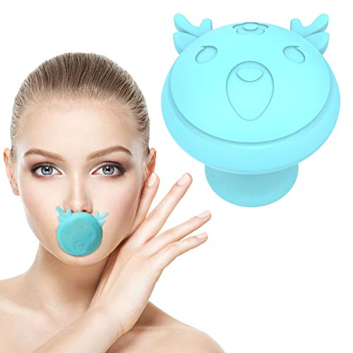 Jaw Exerciser and Neck Toning, Face Lifting Your Jawline Men and Women Facial Mouth Exerciser Jaw line Exercise, Double Chin Exerciser Tool (Blue)