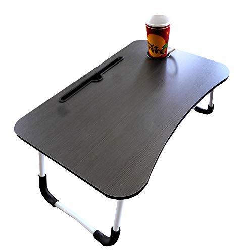 SEAFON Mesa Soporte para Laptop, Mesa para Cama desayunador hasta 17 Pulgadas (Negro)