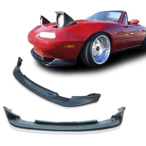 Mazda Miata NA MX5 GV Style Urethane Front Bumper Lip Chin Spoiler For 90-97 Models