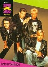 Indecent Obsession trading Card (Musicians) 1991 Proset Musicards Super Stars #53