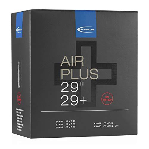 Schwalbe Unisex– Erwachsene Schlauch SV 19+AP Air Plus, Schwarz, 29 Zoll