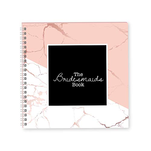 Bridesmaid Wedding Planner Book and Organizer | Planning The Perfect Wedding | Journal Organizers Perfect As A Bridesmaids Gift Ideas | Best Bridal Planners for Your Best Friend Big Day