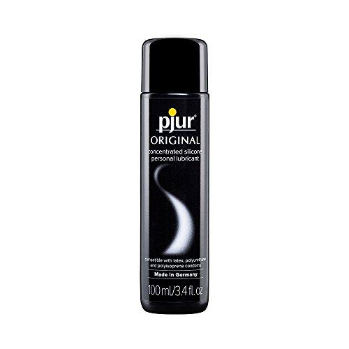 pjur ORIGINAL - Lubricante de silicona Premium - lubricación duradera sin pegarse - cunde mucho y es adecuado para preservativos - pack de 1 (1x100ml)