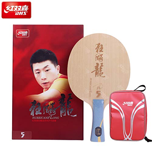 %14 OFF! DHS Hurricane Long 5 Racket Blade | with Ma Long Autograph Card | NEO Hurricane 3 Provincia...
