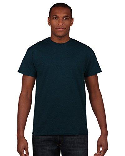 Gildan Men s Heavy Cotton Tee T-Shirt, Black (Midnight), X-Large