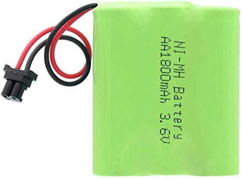 1/2/4 Piezas 3.6V 1800Mah 3 * AA Grupo De Baterías Recargables Ni-Mh Conector Universal 1800Mah Recargable Ni-Mh 3 * Pilas AA 1Pcs-4Pcs