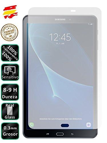 Movilrey Protector para Galaxy Tab A6 2016 10.1 T580 Cristal Templado de...