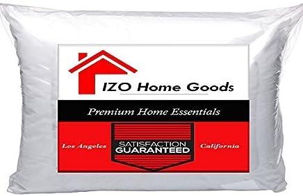 IZO Home Goods Lumbar Sham Stuffer Hypo-allergenic Poly Pillow Form Insert,  12 W x 20 L