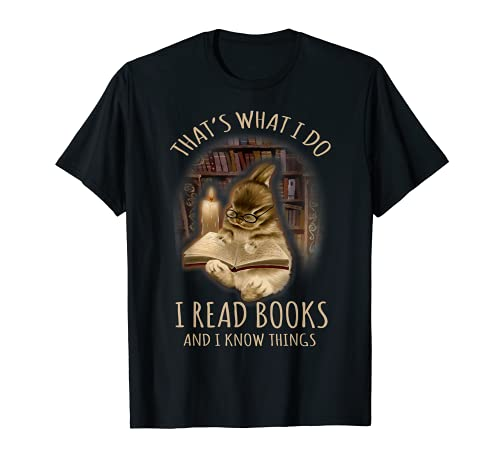 Bunny That's What I Do I Read Books And I Know Things T-Shirt