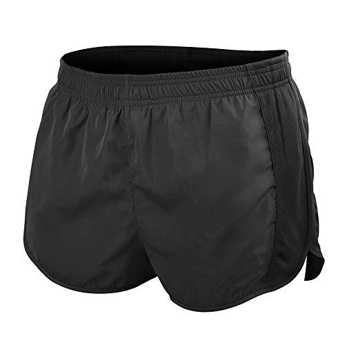 Muscle Alive Hombres Deportes Running 1' Élite División Corriendo Pantalones Cortos con Lado Malla Panel Rápido Seco Shorts