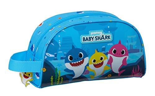 Baby Shark Kulturbeutel, groß, 260 x 160 x 90 mm