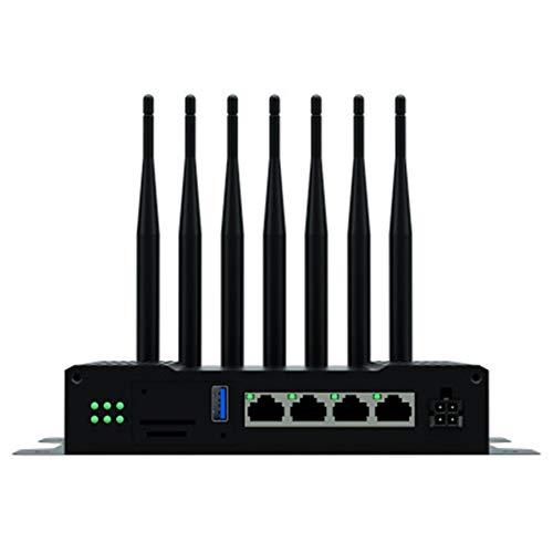 Yanghao Draadloze 4G Router, 4G Lte Wifi Router 1200M Industriële Grade Gigabit Dual-Band 2.4G & 5.8G