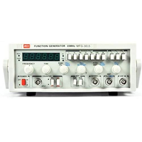 Instrument de mesure de précision Fonction Générateur de signal Basse fréquence 15MHz Signal Source 30M Fréquencemètre MFG-3015 (Size : 220V)