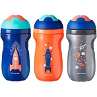 3-Pack Tommee Tippee Non-Spill Insulated Sippee 9oz Toddler Tumbler Cup
