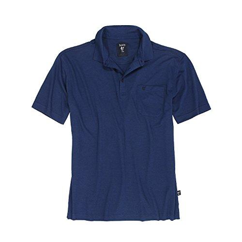 hajo Herren H KL Softknit Poloshirt, Blue (Marine 609), XXXX-Large (Herstellergröße: 60)
