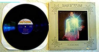 Diana Ross Live At Caesars Palace - Motown Records - 1 Used Vinyl LP Record - Original Release Die Cut Cover With Bonus Color Photos