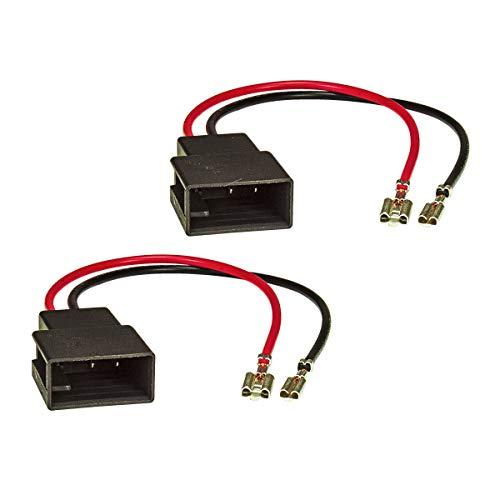 tomzz Audio 7108-000 Lautsprecheradapter (2er Set) auf DIN passend für Citroen C1, Peugeot 107, Toyota Aygo Armaturenbrett