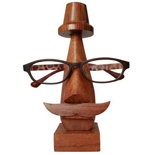 Tuin Van Kunsten Houten Oogkleding Houder, Spectacule Houder voor Mannen & Vrouwen, Spec Houder, Houten Eyeglass Stand, Oogkleding Retainer, Zonnebril Houder, 6.5 Inch