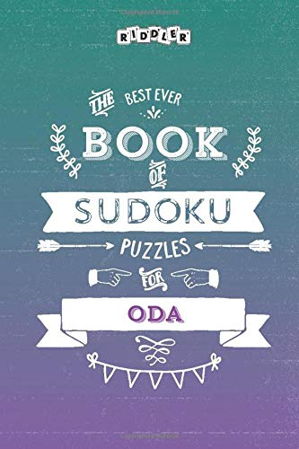 The Best Ever Book of Sudoku Puzzles for Oda