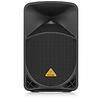 Behringer Eurolive B112D Active 2-Way 12  PA Speaker System with Wireless Option and Integrated Mixer,Black